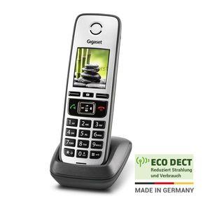 Gigaset FAMILY – Universal-Mobilteil - Schnurloses Telefon zur Anbindung an alle gängigen Router, großes Farbdisplay - anthrazit-grau