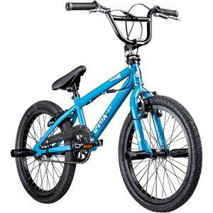 deTox Rude Limited 20 Zoll BMX Freestyle Street Park Einsteiger Anfänger ab 140 cm Fahrrad, Farbe:blau