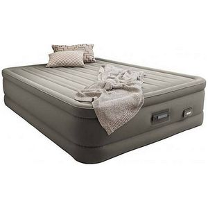 Intex Queen Size Premaire Dream Luftbett 152x203x46cm Built-in Pumpe