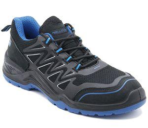 Arbeitsschuhe 736 Sicherheitsschuhe S1P Sneakers Gr. 43 vglb. Stahlkappe schwarz
