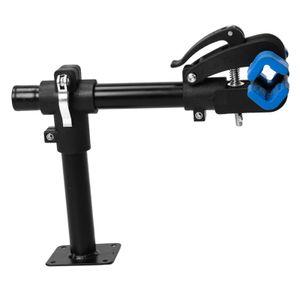Faltbarer Fahrrad-Reparaturständer für die Wandmontage, Fahrrad-Wartungsständer Teleskop-Arbeitsständer-Klemme für Garage Home Farbe 36x26cm