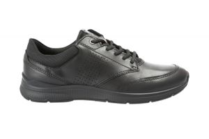 ECCO Herren Sneaker Sneaker Low Leder-/Textilkombination schwarz 42