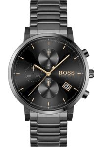 Boss Black Armbanduhr Herren Quarz INTEGRITY 1513780