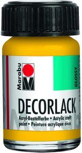 "Marabu Acryllack ""Decorlack"" mittelgelb 15 ml im Glas"