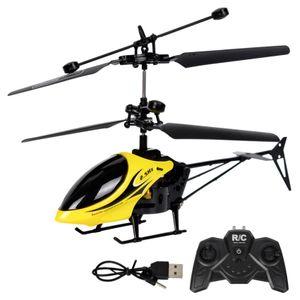 RC-Hubschrauber 2 Kanal Ferngesteuerter Helikopter mit Gyro Light Mini-Hubschrauber für Kinder & Erwachsene Drohne Flugzeug Spielzeug
