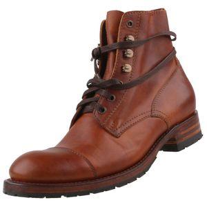 Sendra Herren Stiefelette 9049 Braun, Schuhgröße:EUR 43