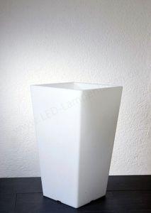 EPSTEIN-DESIGN Pflanzgefäß QUADRO Weiß 68 cm