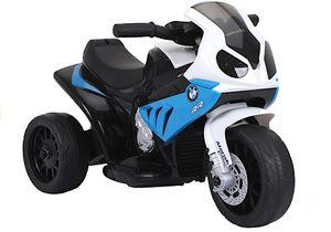 Elektro Kinder Motorrad BMW Bike in Blau Weiß Trike elektrisch 6V