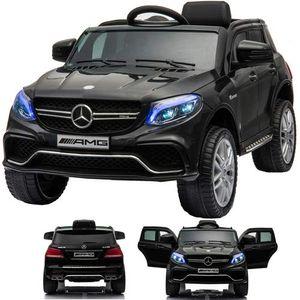 SIMRON - Mercedes-Benz GLE63s GLE 63s AMG SUV Ride-On 12V Elektro Kinderauto elektrisch Kinder Elektroauto SCHWARZ