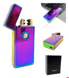 Elektrisches Feuerzeug I Plasma I USB ARC I Lichtbogen I Lighter I Winddicht I Aufladbar mit LED