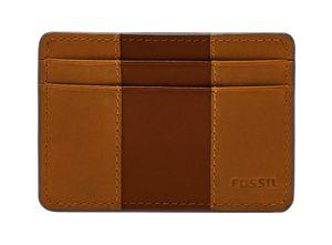 FOSSIL Everett Card Case Medium Brown