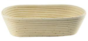 GÄRKORB Rattan Gärkörbchen Teig Brot Brotteig 32x15 cm