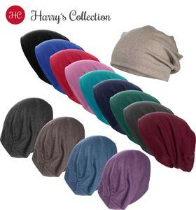 Leichte Beanie  Baumwolle , Kopfgröße:Einheitsgröße, Farben:dunkelgrau