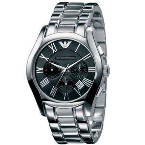Emporio Armani Herren Chronograph  Armband Uhr AR0673