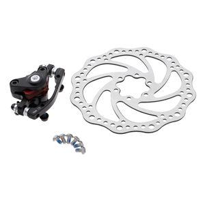MTB Bremsen vorne/hinten Fahrrad Scheibenbremse Set Bremsscheiben 160mm Größe Bremssattel vorne