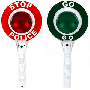 Alert Kinder Polizeikelle Handkelle Stop Kelle
