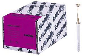 E-NORMpro Nageldübel 6/ 40 S (Inh. 100 Stück)