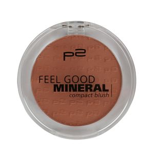 P2 Make-up Teint Rouge Feel Good Mineral Compact Blush 833431, Farbe: 035 soft peach, 5 g