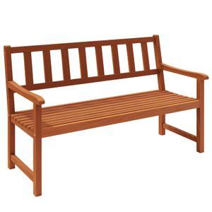 Gartenbank Kensington Akazien Holz witterungsbeständig 2 Sitzer Parkbank Sitzbank Holzbank Balkonbank Bank Garten Möbel