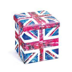 Faltbox Setti klein Union Jack beige