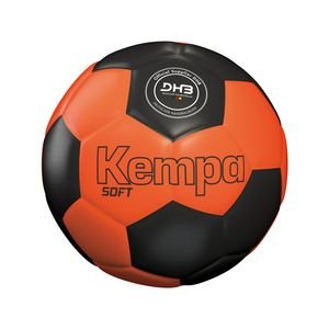 Kempa Soft Handball, Color:fluo rot/kempablau, Groesse:NOSIZE