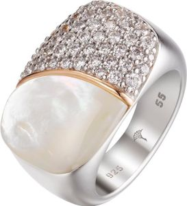 Joop JPRG90710A Damen Ring Lily Silber Zirkonia Perlmutt 55 (17.5)
