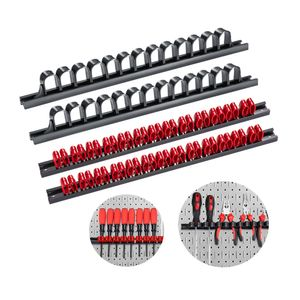 Werkzeughalter,Schraubendreher-Organizer und Schraubenschlüssel, Organizer, Handwerkzeug-Halter,Klammer-Leisten-Set