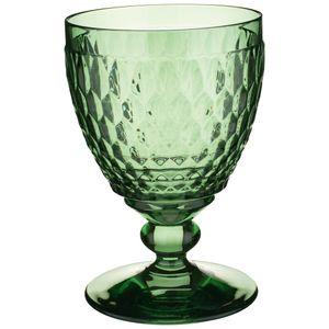 Villeroy & Boch 2 x  Rotweinglas green Boston coloured Vorteilsset 2 x  Art. Nr.  1173090022 und Gratis 1 Trinitae Körperpflegeprodukt