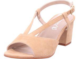 Caprice Woms Sandals Damen Sandale Sandalette Sommerschuhe beige 9-9-28309-26/462 : 37