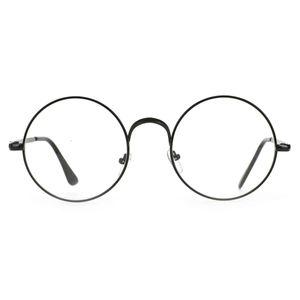 Große Harry Potter Brille für Zauberer Kostüm   Schwarz