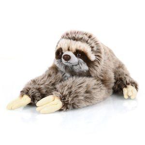 30cm Kuscheltier Schmusetier Faultier Plüschfaultier sitzendes Plüsch Kuscheltier Blitzfaultier für Kinder Spielzeug