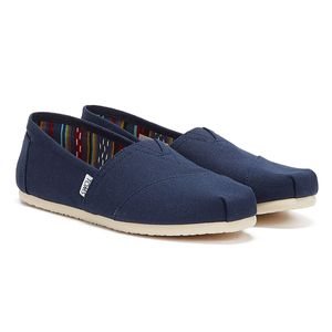 Toms One for One Damen Espadrilles  Textil blau 40