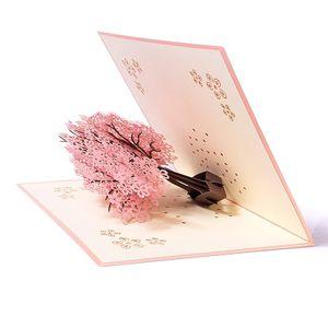 Geburtstagskarte Weihnachtskarten, 3d Pop up Hochzeitskarte für die meisten Anlässe, Romantik Faltkarte Grußkarte Valentinstag Karte mit Umschlag