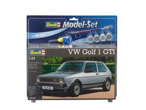 Revell Model Set VW Golf 1 GTI - Auto-Modellbausatz; 67072