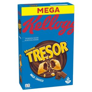 Kelloggs Tresor Milk Chocolate Cerealien leckerer Knusperspaß 660g