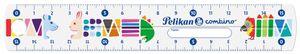 Pelikan Lineal combino 150 mm transparent