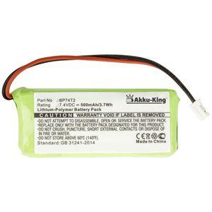 Akku kompatibel mit Dogtra BP74T2, Handsender ARC 800, ARC 802, ARC 800 CAMO - 7.4V 500mAh