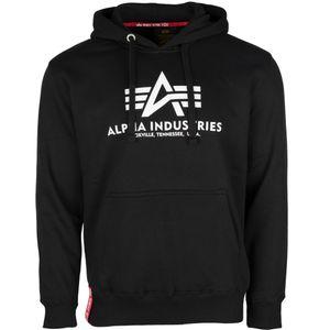 Alpha Industries Hoodie Basic schwarz : M