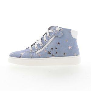 Richter High-Top Sneaker Blau Silber - Mädchen, Größe:32