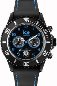 Ice Watch Ice-Chrono Drift Big Herren Chronograph schwarz/blau CH.BBE.B.S.14