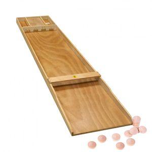 SJOELBAK großes Shuffleboard ca 200cm Shuffle Board Holz Spiel aus Holland Billi