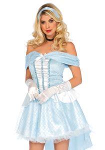 Kostüm Glas-Prinzessin für Damen