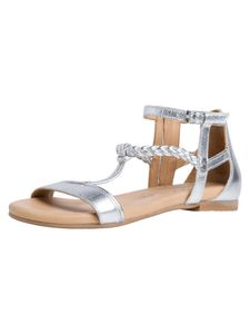 Tamaris Damen Sandale metallic 1-1-28043-26 weit Größe: 39 EU