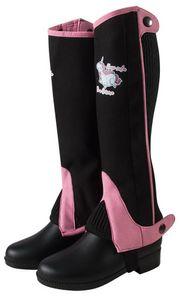 PFIFF Kinder Minichaps 'Unicorn', schwarz-pink, 12