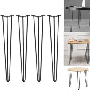 4x Haarnadelbeine Hairpin Leg Tischkufen Tischgestell Tischbeine Esstisch 76cm