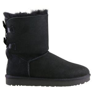 UGG Bailey Bow II Boot Stiefel Damen Schwarz (1016225 BLK) Größe: 39 EU