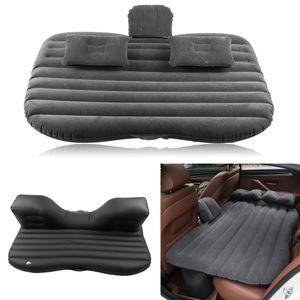 Auto Aufblasbare Matratze Luftbett Luftmatratze Gästebett Matte Reisebett PVC mit Elektropumpe für Auto Rücksitz