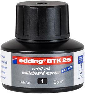 edding Whiteboardmarker BTK 25 Nachfülltinte schwarz 25 ml