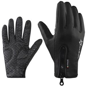 ROCKBROS Fahrrad Handschuhe Vollfingerhandschuhe Schwarz Outdoors Sport XL