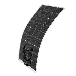 340W 18V Flexibel Monokristallin Solarpanel Solarmodul Auto Camping Reisen